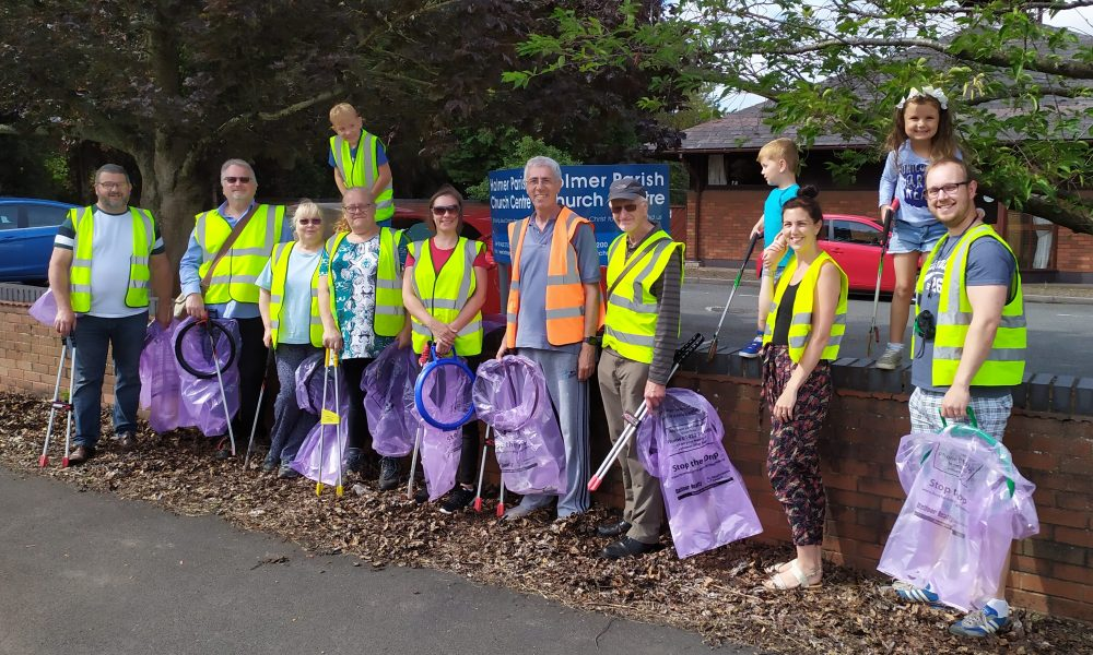 Holmer Community Litter Pick